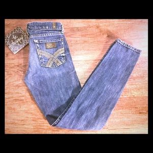 7 For All Mankind Super Skinny Jeans-sz 25